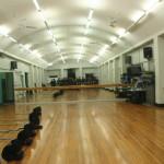 Mirrors make the Dance Studio looks larger