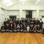 Group photo at Dance Studio